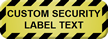 Create Tamper Proof Security Seal Label