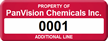 Custom Property Tag with Numbering, Change Background Color
