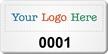 Customizable SunGuard Asset Logo Numbering Tag