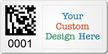Design 2D Barcode Logo SunGuard Asset Tags