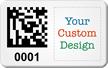Design SunGuard 2D Barcode Logo Asset Tags