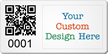 Design SunGuard QR Code Logo Asset Tag