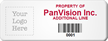 Personalized Property Of Tag, Add Logo with Barcode