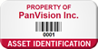 Create Your Own Property Of Tag With Barcode