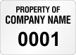 Create Economy Asset Labels, Add Company Name, Numbering