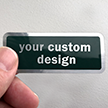 Custom Metallic Sticker