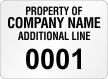 Create Economy Asset Labels, Add Company Name
