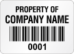 Create Economy Asset Labels, Add Property Of Name