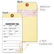 Inventory Tag with Paper Copy