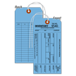 1-Part Blue Cardstock Tag With String