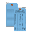 1-Part Blue Cardstock Tag