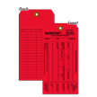 1-Part Red Cardstock Tag