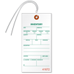 1-Part Tyvek Inventory Tag With Wire