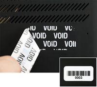 Consecutive Numbered Label