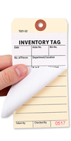 Inventory Tags with Paper Copy