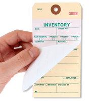 Heavy Manila Cardstock Inventory Tags Copy