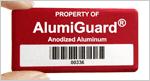 Premium metal asset tag