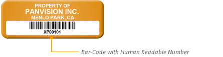 Add Serial Numbers in form of Barcode to Your Asset Tags